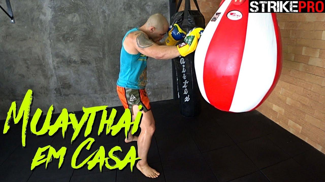 Aprenda um exercício para melhorar seu equilíbrio 🥊 Muay Thai em Casa