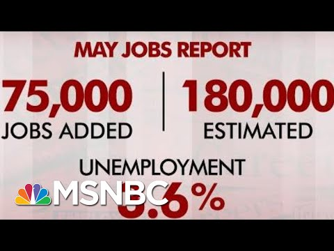 May Jobs Report: Hiring Slows, Unemployment Rate Unchanged | Morning Joe | MSNBC