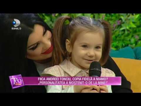 Teo Show (21.01.) - Fiica Andreei Tonciu are aproape trei ani! De ce au retras-o de la gradinita?