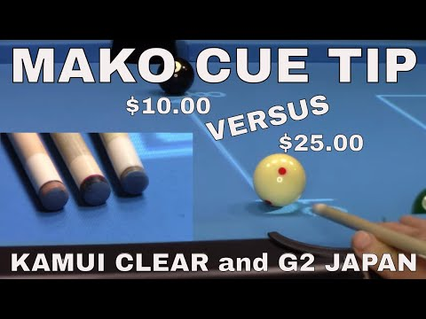 Pool Cue Tip Comparison