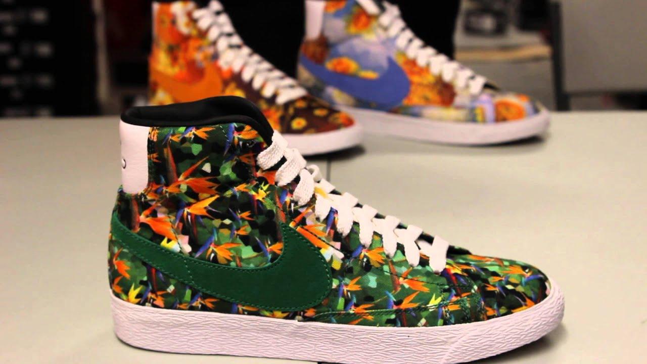 Nike Blazer Premium Vintage QS Floral Pack