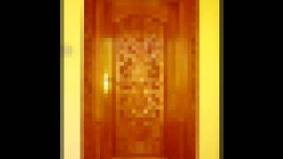 Creative Wooden Door Carvings