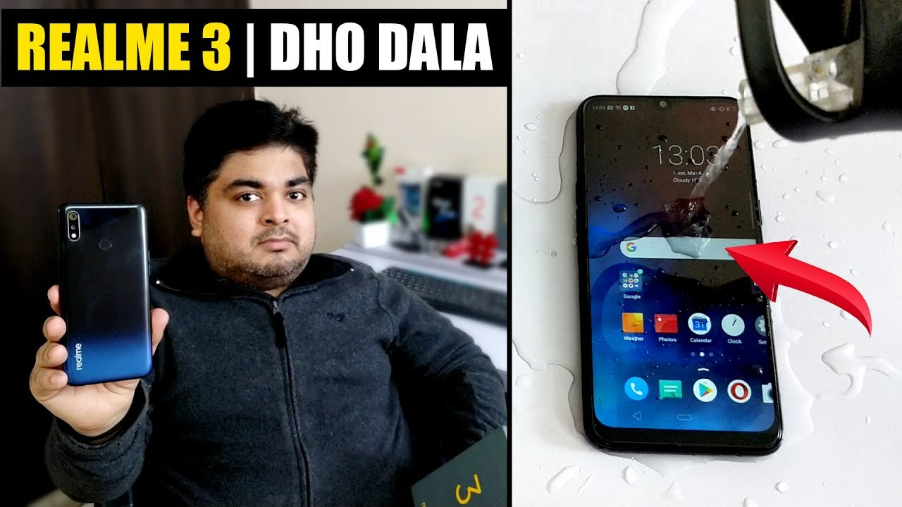 Realme 3 | 3 in 1 | QUICK REVIEW | UNBOXING | WATER TEST ???