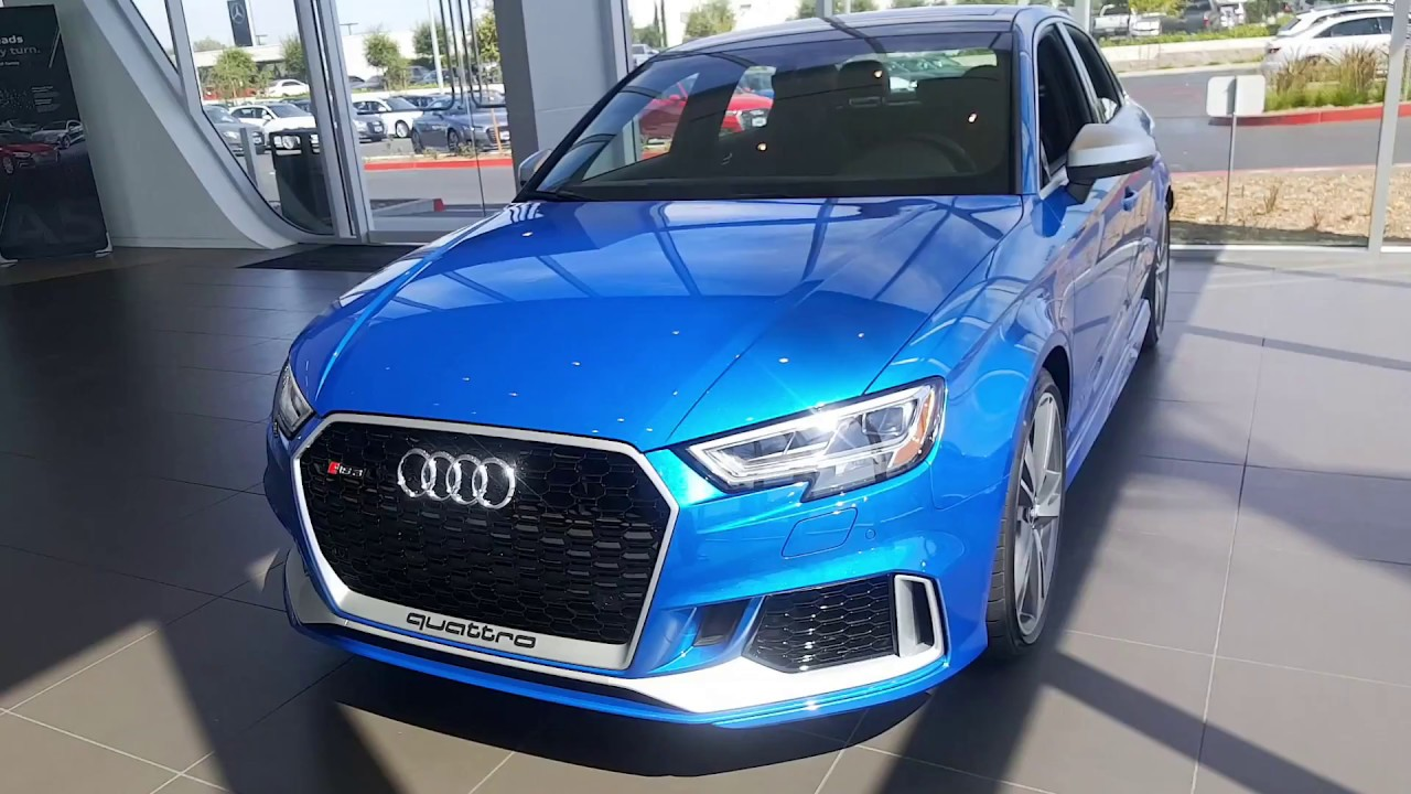 2018 Audi Rs3 Audi Temecula Hoehn Motors Now