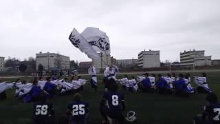 秋田大学競技場にて行われた アメフト部 試合のハーフタイム での演舞です.