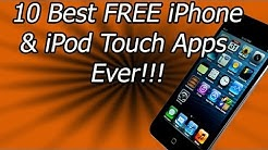 10 Best FREE iPhone/iPod Touch Apps Ever In The App Store!