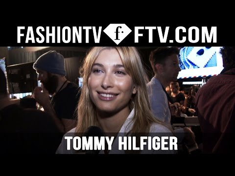 Backstage at Tommy Hilfiger Spring 2016 New York Fashion Week ft. Hailey Baldwin | FTV.com