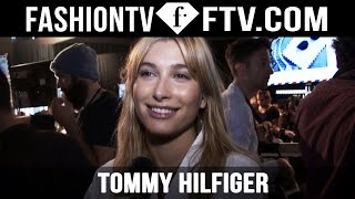 Backstage at Tommy Hilfiger Spring 2016 New York Fashion Week ft. Hailey Baldwin | FTV.com