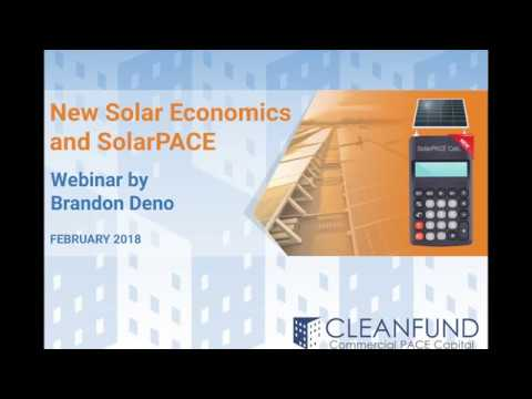 New Solar Economics and SolarPACE