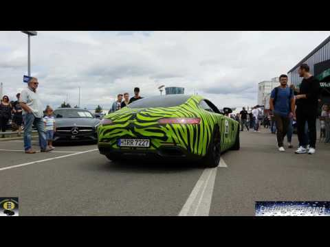 50 Years Mercedes-AMG, more 500 Cars meets Motorworld Böblingen, World's largest AMG hit