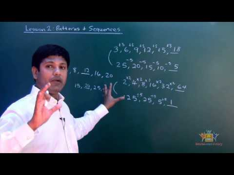 Form1 lesson 2 2 Number pattern and Sequences