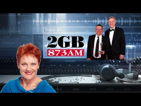 PAULINE HANSON on Nights With Steve Price & Andrew Bolt