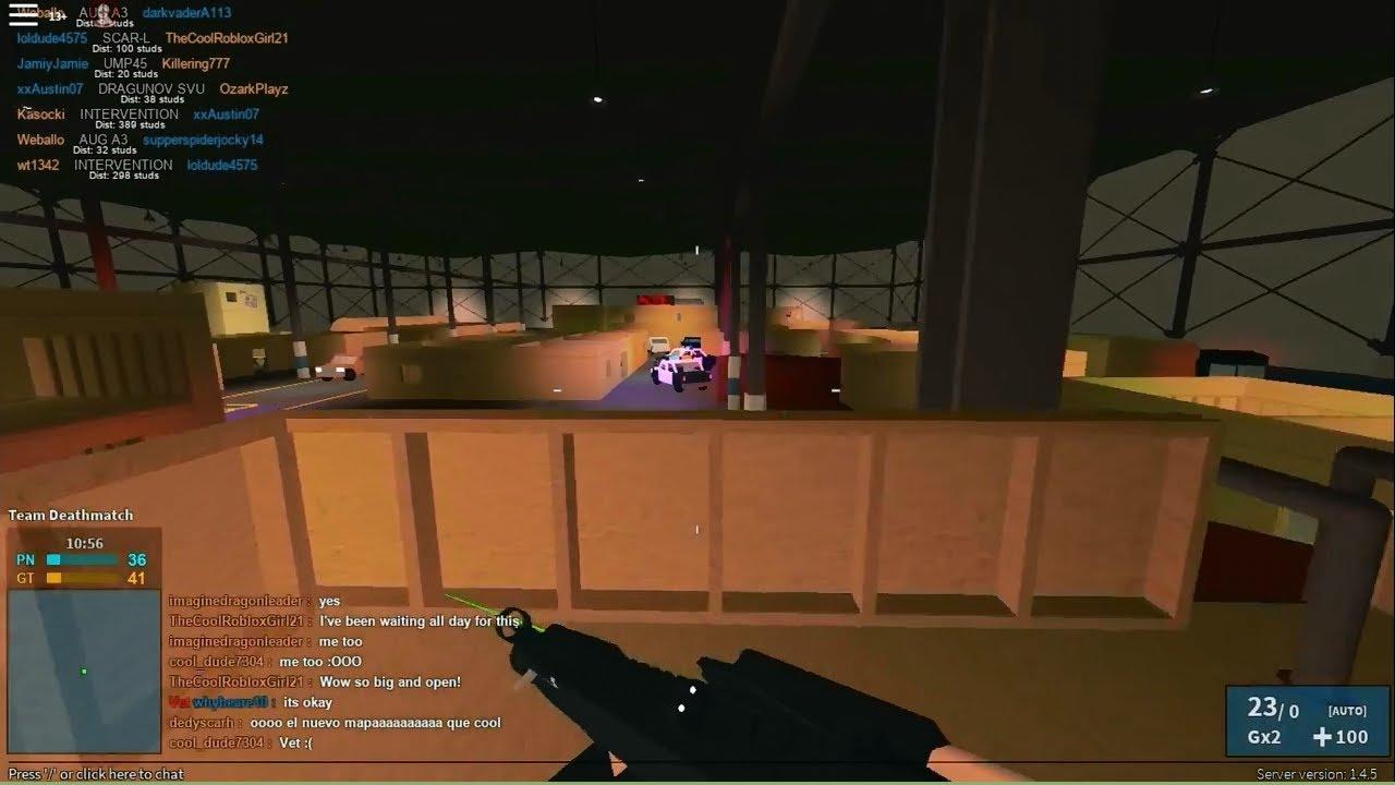 Phantom Forces New Warehouse Map Youtube