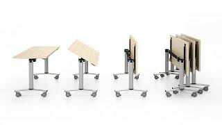 Cкладные столы CONNECT(Cкладные столы CONNECT (КОННЕКТ) - практичное решение для конференц-залов, учебных центров, проведения семинаро..., 2015-09-17T09:37:58.000Z)