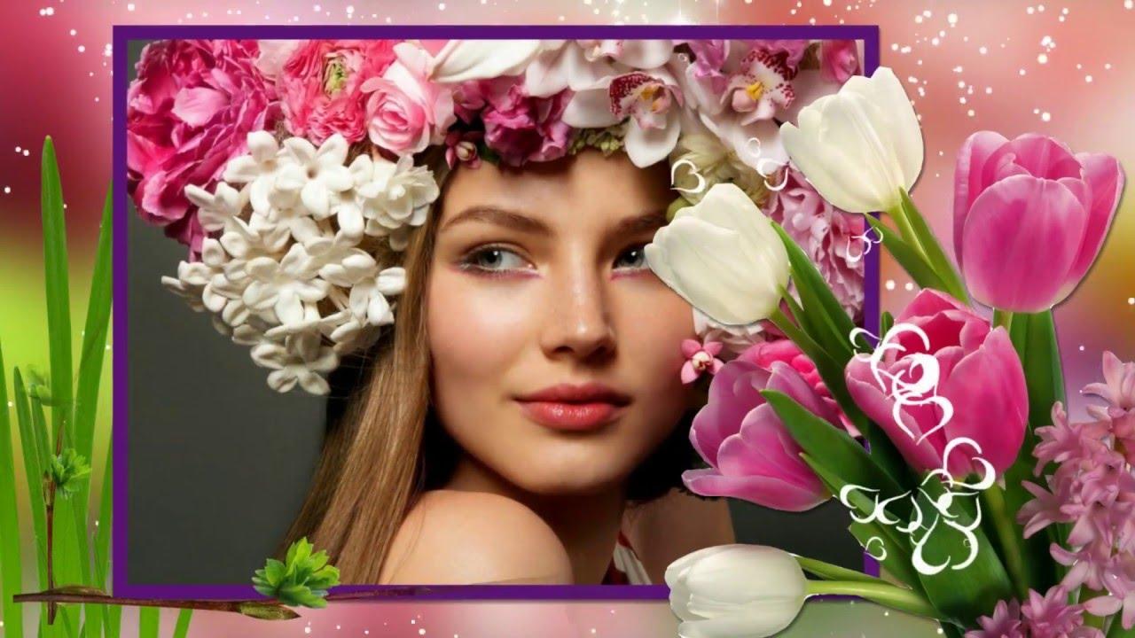 Видео открытки с фотографией