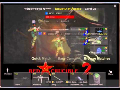 Red Crucible 2 Cheats