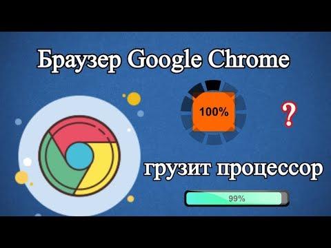 Браузер Google Chrome грузит процессор?