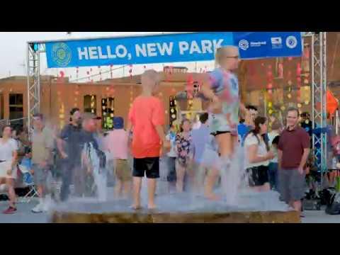 Opening Weekend of Riverfront Fort Wayne's Promenade Park