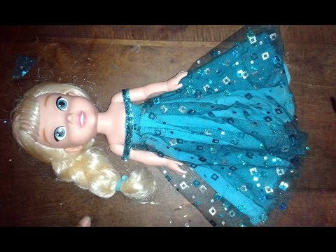 Vestido de Elsa (Frozen) 2da parte