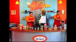 Grace And You Cooking Show - Grace Jerk Chicken With Mango Puree