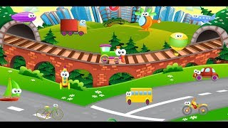 Learn with the Vehicles English Learning Game for Kids