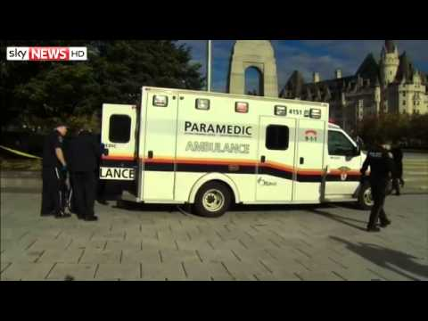 Shooting At Canadian War Memorial In Ottawa