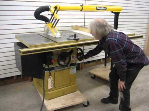Sold Used Powermatic Model 66 3hp Table Saw Us0171 Youtube