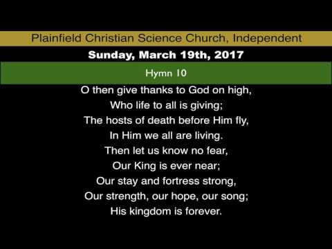 Sunday, March 19th, 2017 service - Subject: Matter