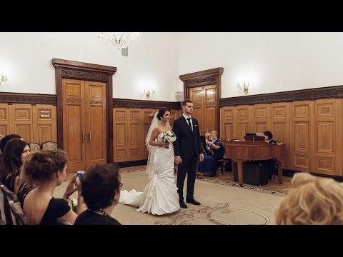 Грибоедовсксй Загс, Дворец Бракосочетания 1, церемония бракосочетания, видеосъемка в 4к