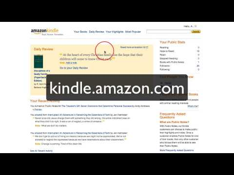 How to easily back up Kindle notes and highlights to Evernote