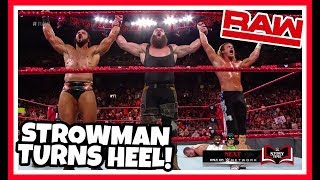 BRAUN STROWMAN TURNS HEEL Reaction | WWE Raw 8/27/18
