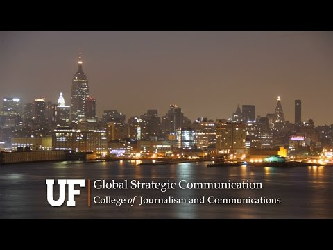 Earn Your Master's Degree in Global Strategic Communication