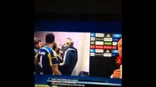 Emre Belözoğlu ve Bilic Koridorda Tartışıyor Beşiktaş 0 2 Fenerbahçe 02 11 2014  FULL İZLE
