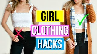Fall to Winter Clothing Hacks for Girls!
