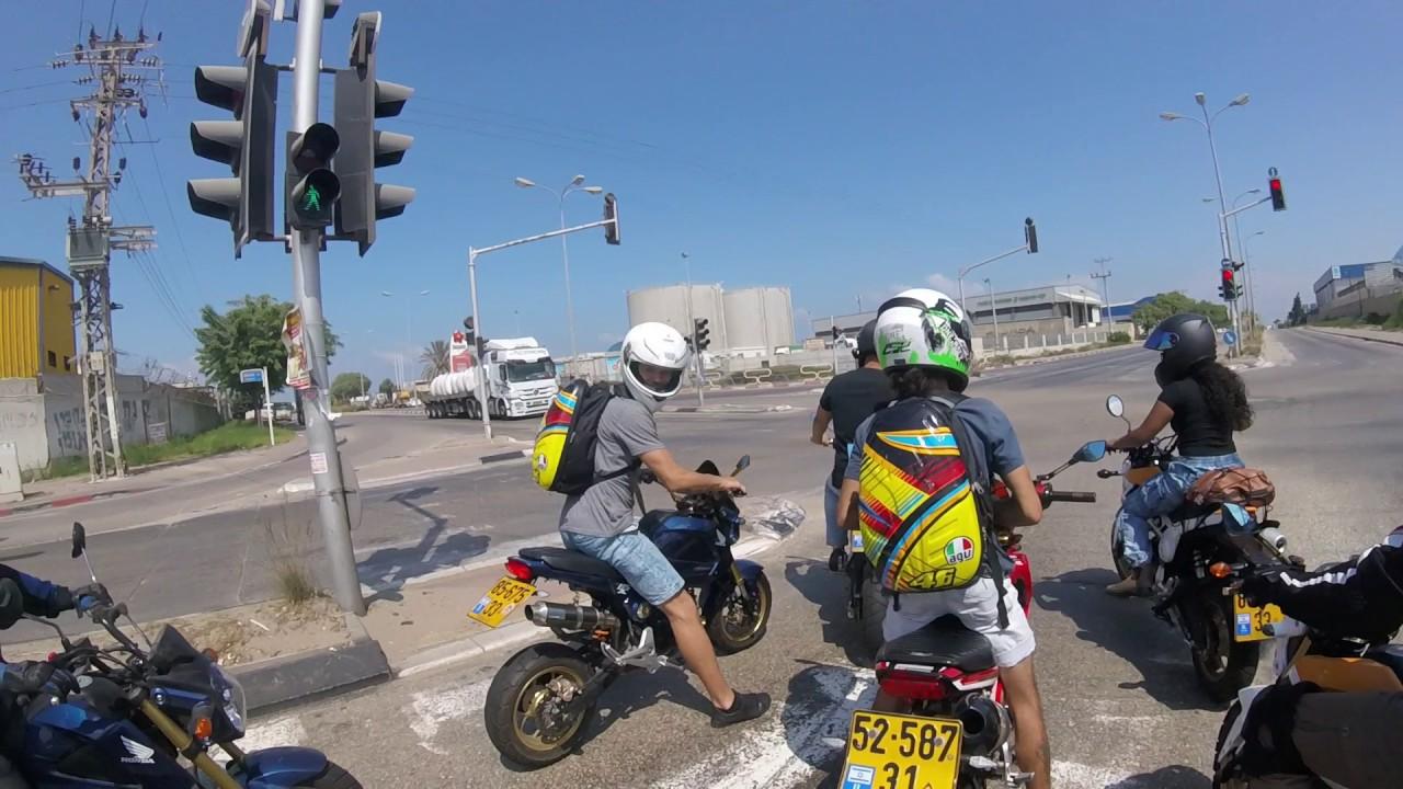 מדהים Honda MSX 125 (Grom) Israel Club - Ashdod Old Race Track - YouTube TF-85