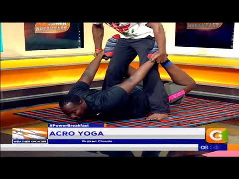 Acro Yoga [Part 2] #PowerBreakfast