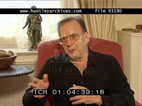 Ronald Harwood on Working with Roman Polanski, 2000's  Film 93190