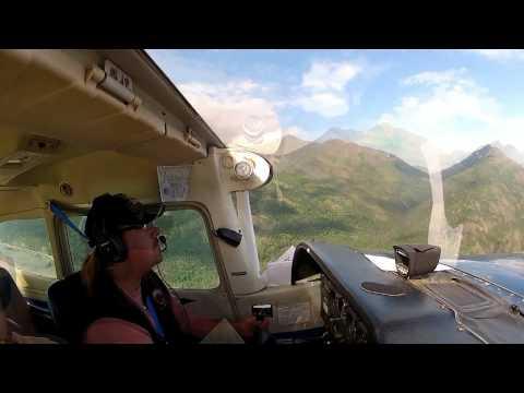 Flying Over Cook Inlet Alaska - by Geoff Oliver