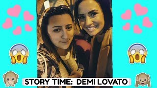 STORY TIME: DEMI LOVATO DID WHAT?!?! :O