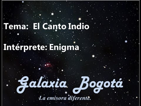 Baixar ENIGMA - EL CANTO INDIO (INDIAN CHANT)