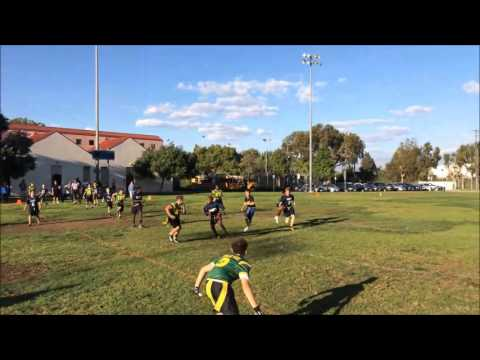 Lighthouse Church School loses to Turning Point in Santa Monica middle school flag football