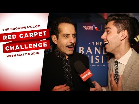 RED CARPET CHALLENGE: THE BAND'S VISIT with Tony Shalhoub, Katrina Lenk and more!