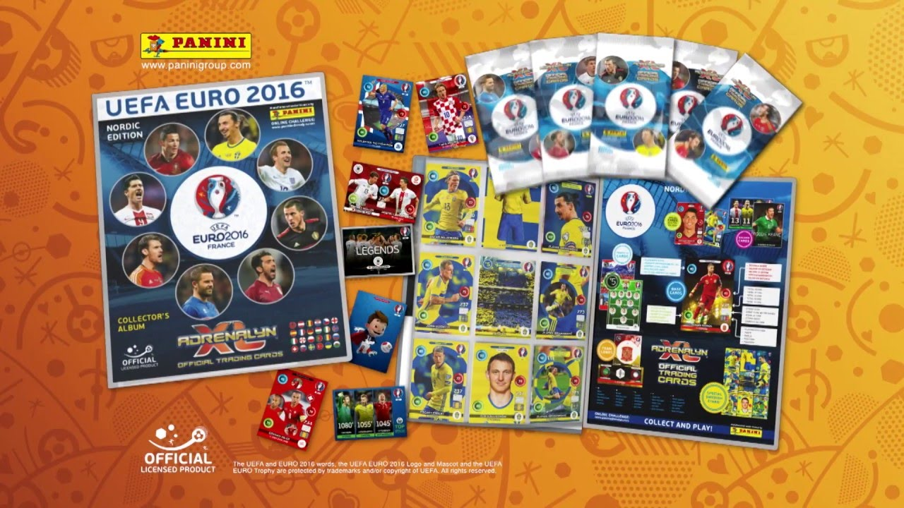 Uefa Euro 2016 Adrenalyn Xl Official Trading Cards Collection Fi Youtube