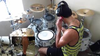 When Everyday's The Weekend by Asking Alexandria: Drum Cover by Joeym71