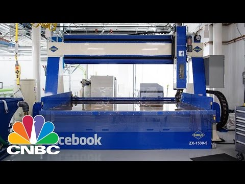 Tour Facebook's New 22,000 Sq Ft Hardware Lab | The Pulse CNBC