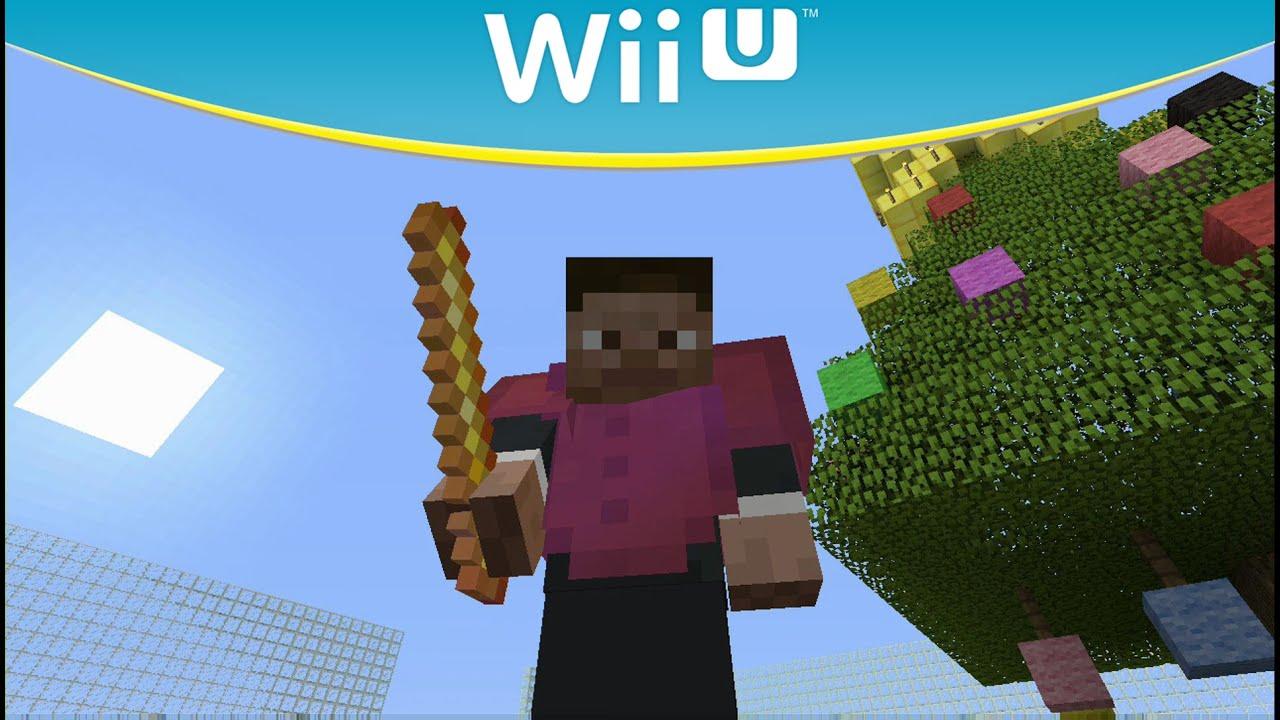 Minecraft Wii U Hide And Seek Holiday Map MiniGame YouTube - Minecraft wii spielen
