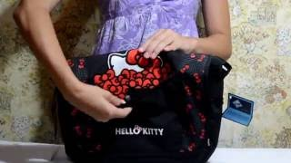 Обзор школьной сумки Kite 806 Hello Kitty для девочек