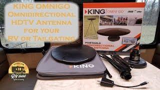KING OmniGo Portable Omnidirectional OTA HDTV Antenna for the RV – Review and Install OA1501