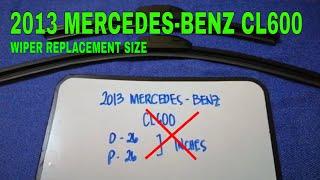2013 Mercedes-Benz CL600 W…