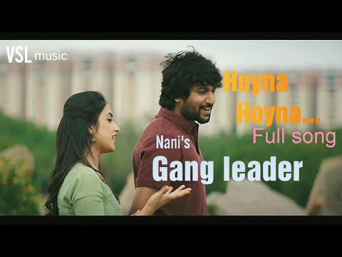 Download Lagu  Gangleader - Hoyna Hoyna Telugu  | Nani | Anirudh | Vikram K Kumar Mp3 Free